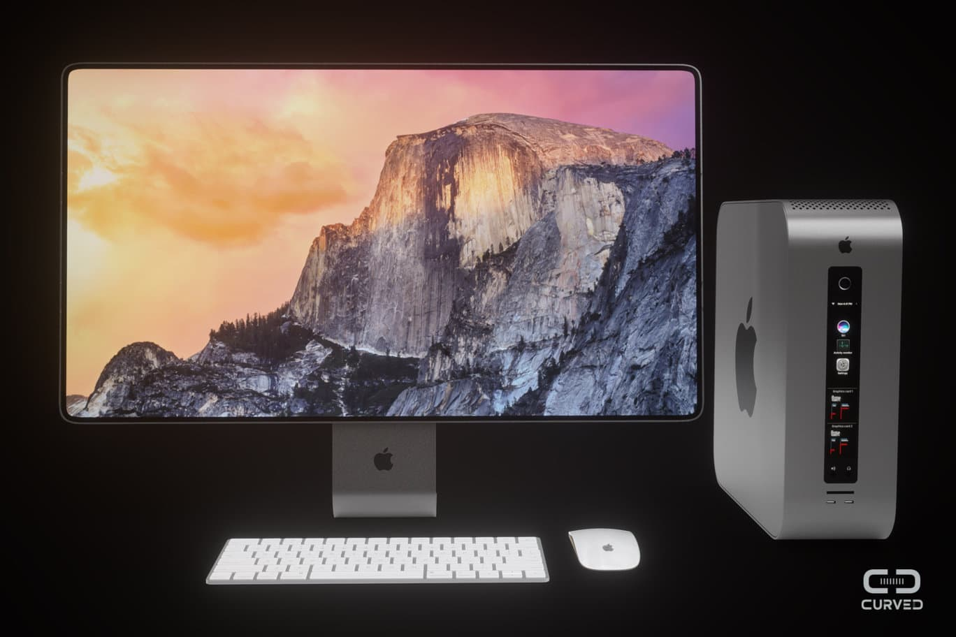 Awesome Mac Pro Concept Packs Expansion Slots Pros Want