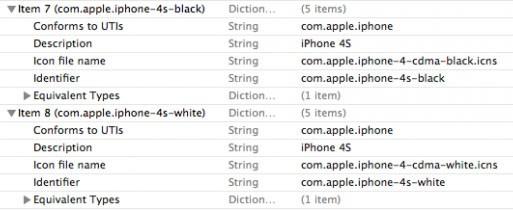 Имя iPhone 4s просочилось в бета-версию iTunes.