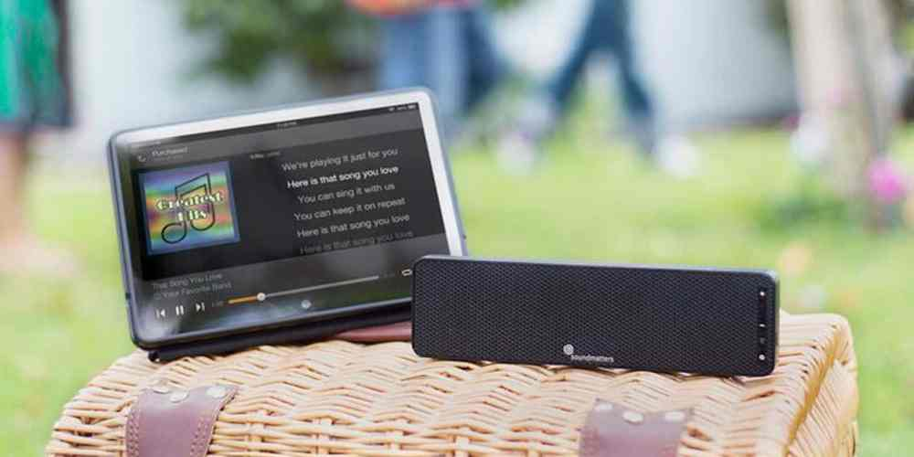 This slim speaker bar is less than an inch tall, but it's big on features and audio quality.