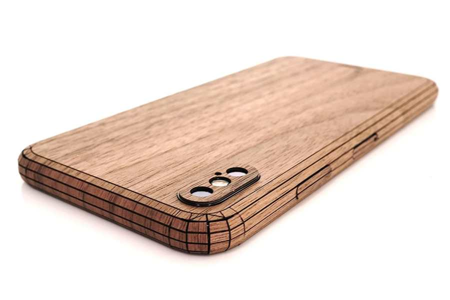 Best iPhone accessories  Cult of Mac s 2017 Gift Guide  Real wood cover for iPhone X from Toast
