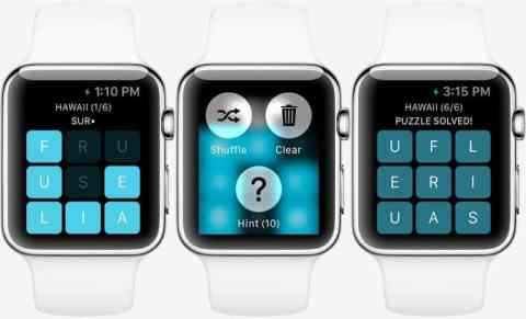 Letterpad gives us preview of Apple Watch gaming