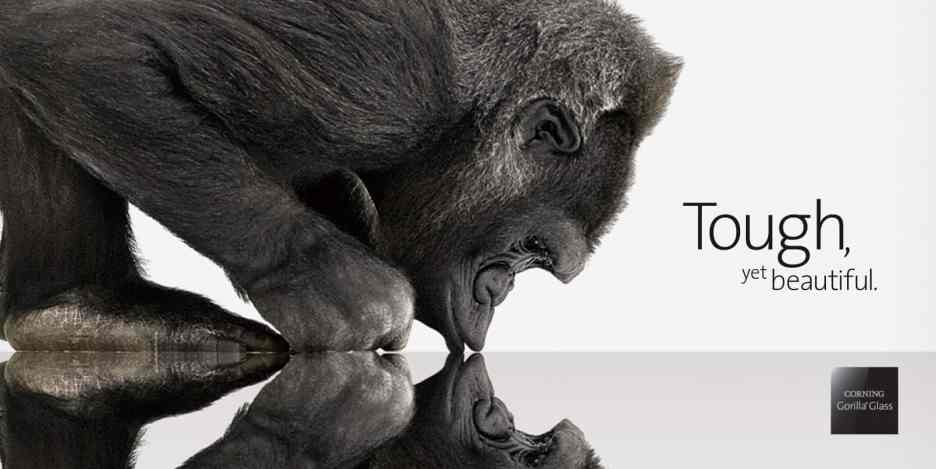 Corning's Gorilla Glass 6 can survive being dropped over a dozen times. Ape not included.