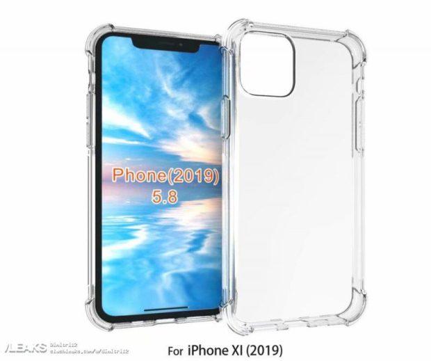 2019 iPhone case leak