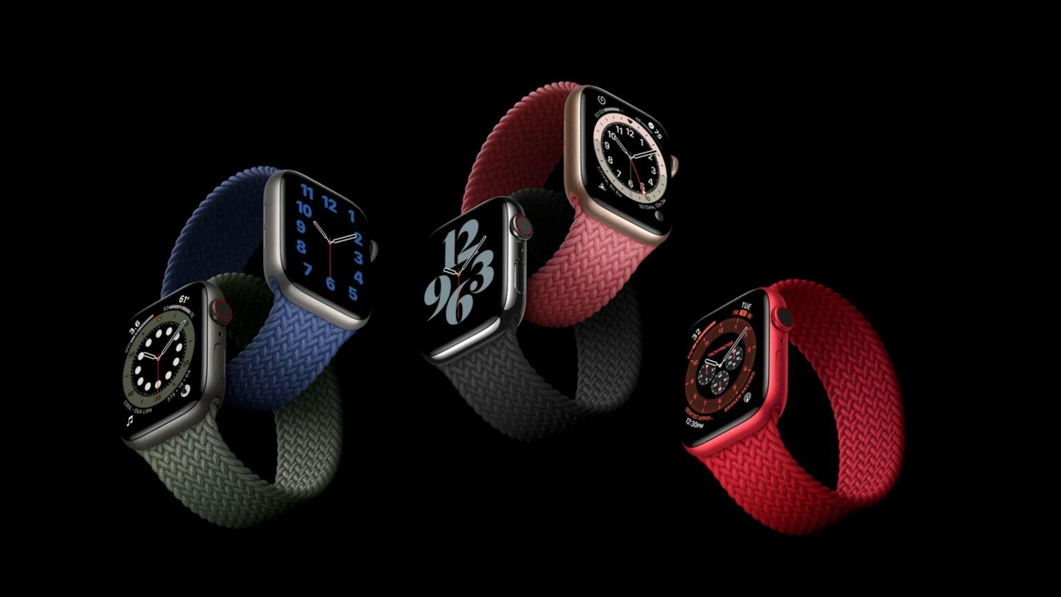 save Apple Watch 6