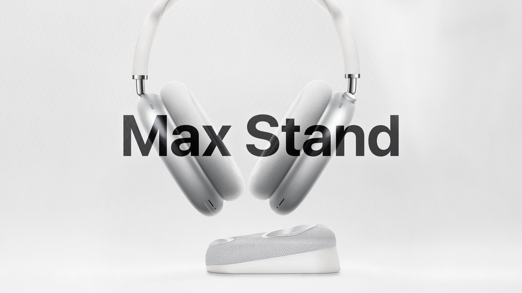 Max Stand adds wireless charging to AirPods Max