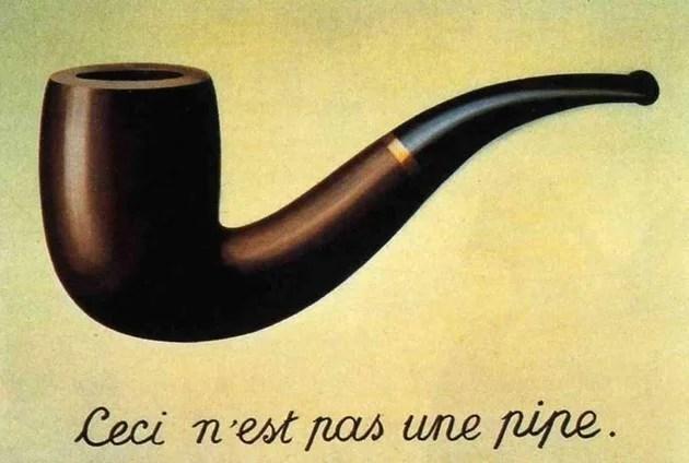 Ceci n'est pas une pipe, obra de RENÉ MAGRITTE
