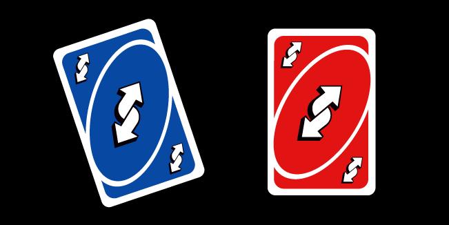 Uno Reverse Card Meme Cursor Custom Cursor Browser Extension
