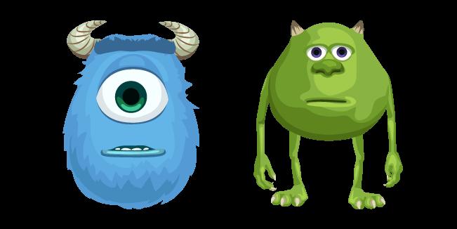 Mike Wazowski And Sulley Face Swap Meme Cursor Custom Cursor