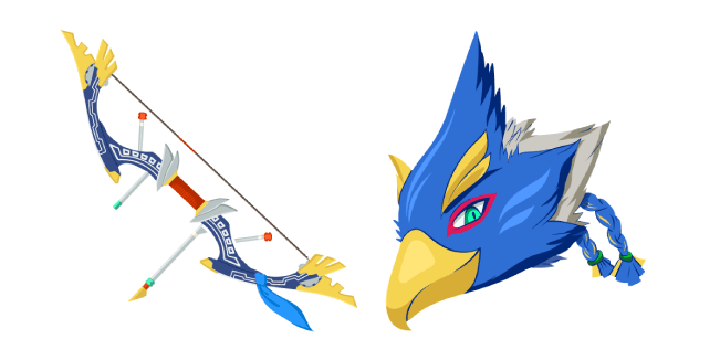The Legend Of Zelda Revali Great Eagle Bow Cursor Custom Cursor
