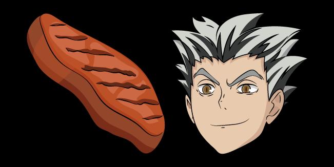 haikyuu korato bokuto and bbq cursor