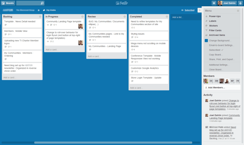 How We Use Trello With Our Clients