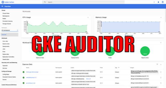 GKE Auditor – Detect Google Kubernetes Engine Misconfigurations