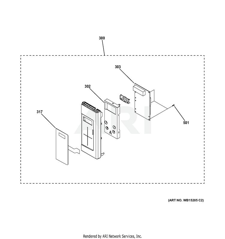 ge jvm3160df2bb microwave partswarehouse