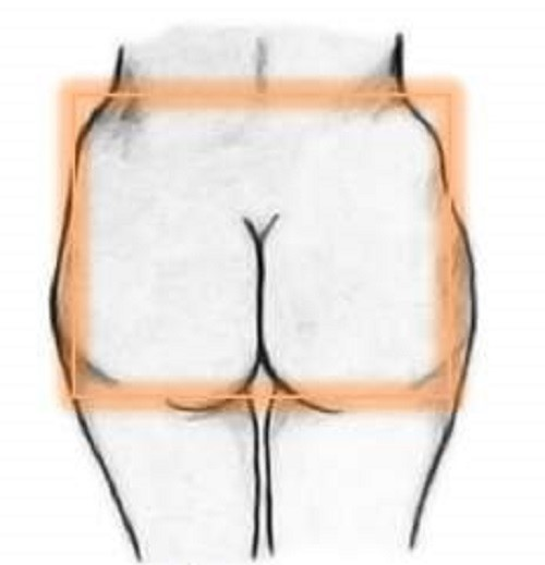 Square shape Bottom