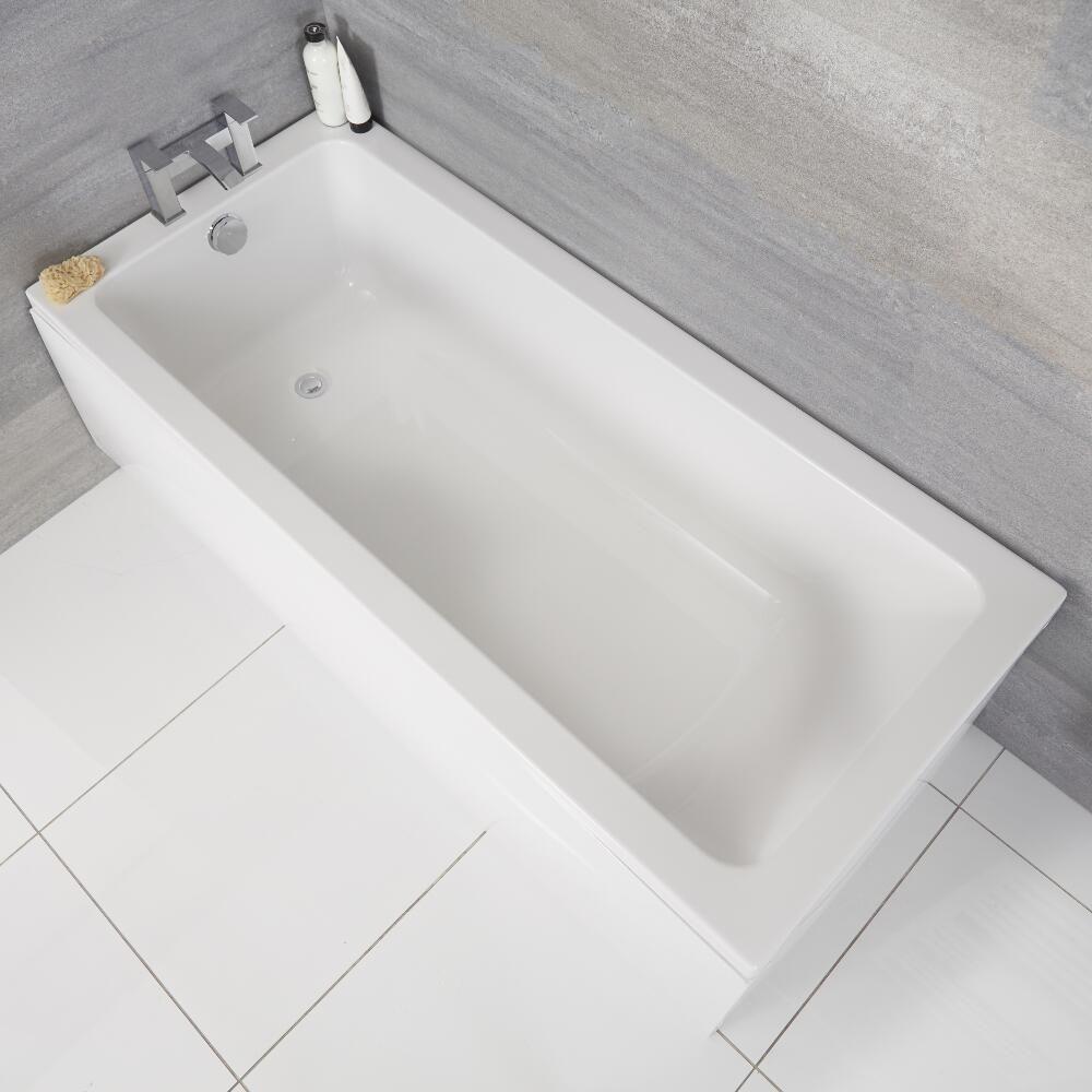 Einbau Badewanne Rechteckbadewanne 1500mm X 700mm Ohne Panel