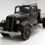 1937 Ford 1 1 2 Ton Flatbed Truck Classic Auto Mall