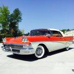 1958 Ford Fairlane Carolina Muscle Cars Inc