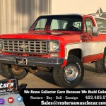 1976 Chevrolet Blazer Restore A Muscle Car Llc