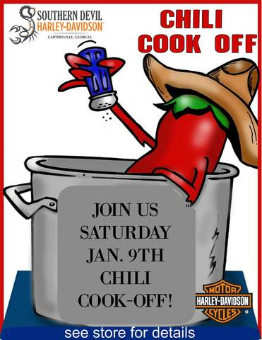 Southern Devil H-D Chili Cook Off