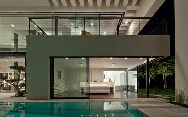 Modern Mansion Exterior