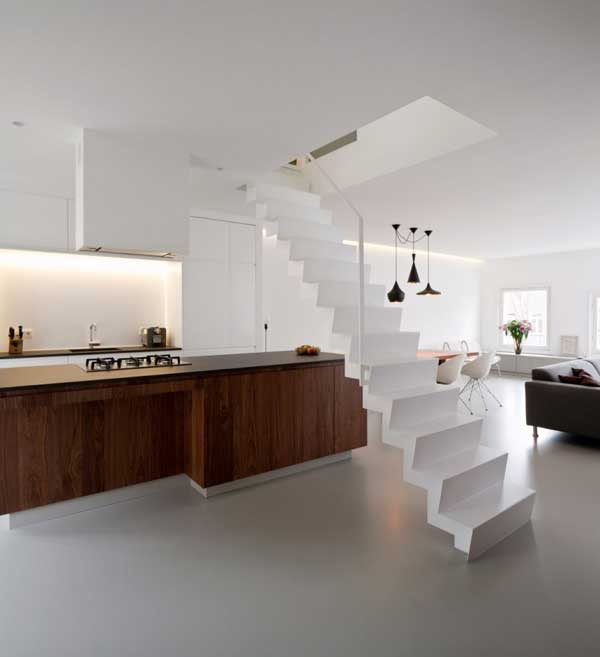 Two Level Apartment Singel Overlooking Amsterdams Canals