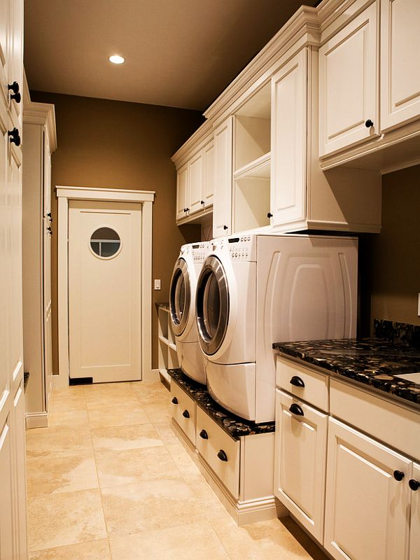 Top 25 Best Small Laundry Rooms Ideas On