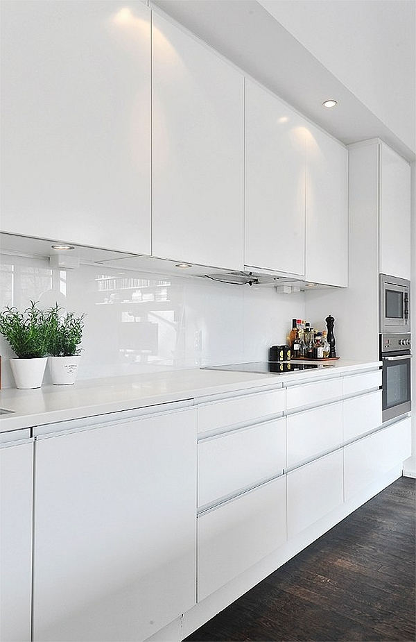 High Gloss Kitchen Countertops