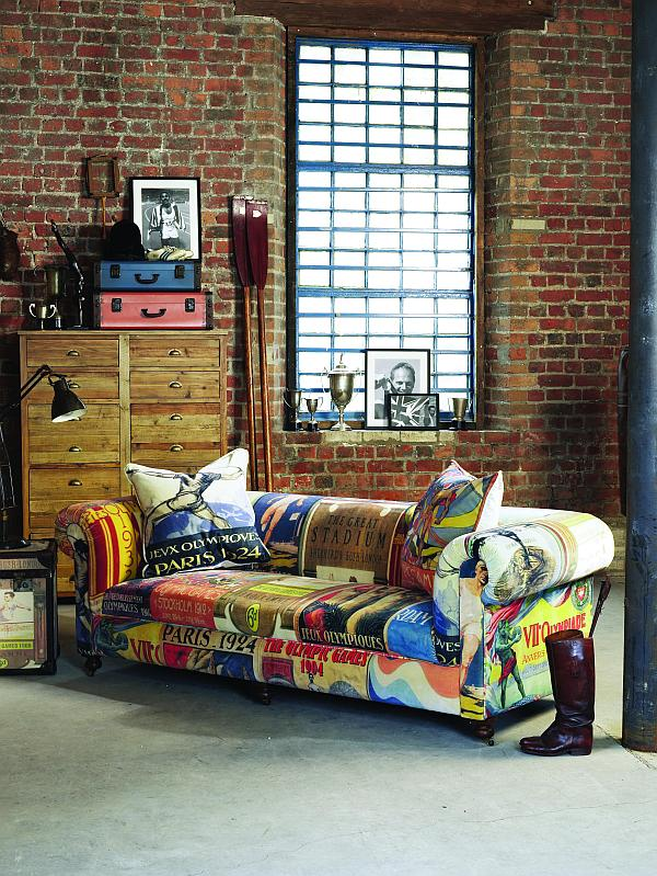 Vintage Olympic Inspired Living Room Furniture From Barker Amp Stonehouse