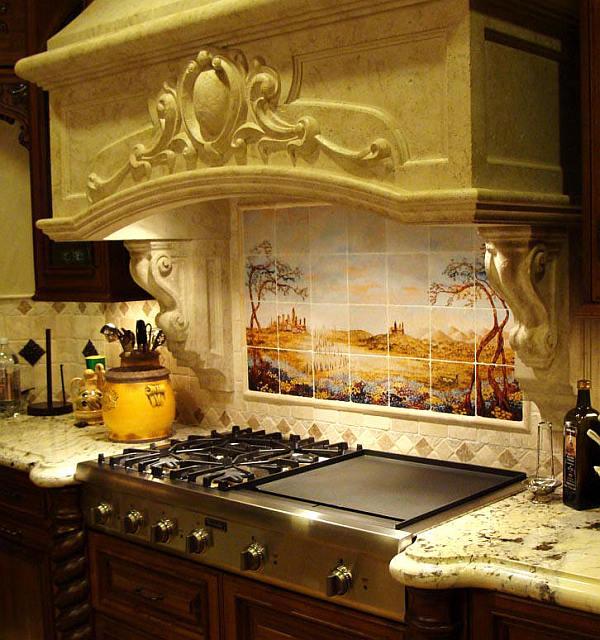 Rustic stone kitchen backsplash. unique ideas for kitchen with ...