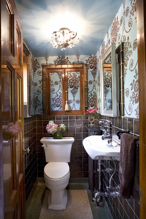 Back To Ideas For An Impressive Powder Room