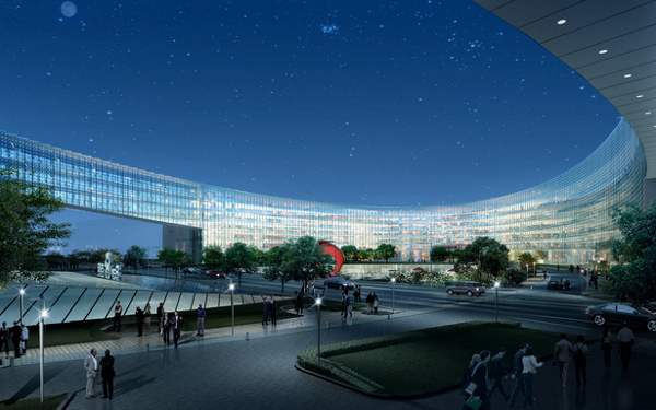 Baidu 3 Baidu Campus proposed in Beijing set to dazzle with green goodness galore