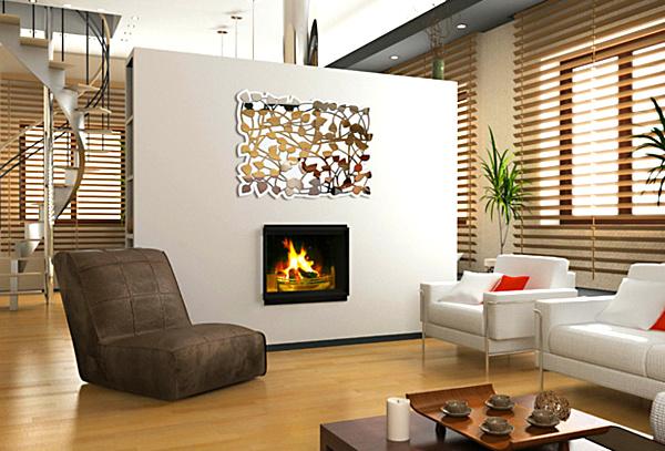 10pcs 10x10cm Listello Wall Mirror Acrylic Mirrored Decorative Border Sticker Living Room Home Decoration
