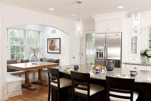 Ecclectic Kitchen Furniture Traditional Breakfast Nook Decoist