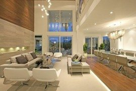 Luxury Clic Living Room With High Ceiling Decorating Ideas