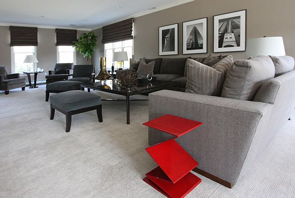 Monochromatic Designs How To Pull It Off. Monochromatic Living Room