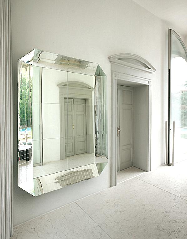 Dual Black Framed Mirror Design Ideas For Living Room Wall Decor