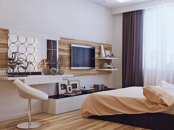 Interior ideas: Modern bedroom design sparkles with cozy ...