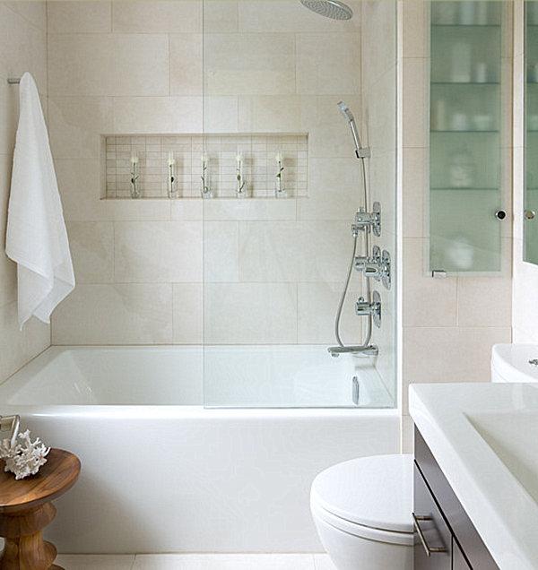 white tile bathroom photos : brightpulse