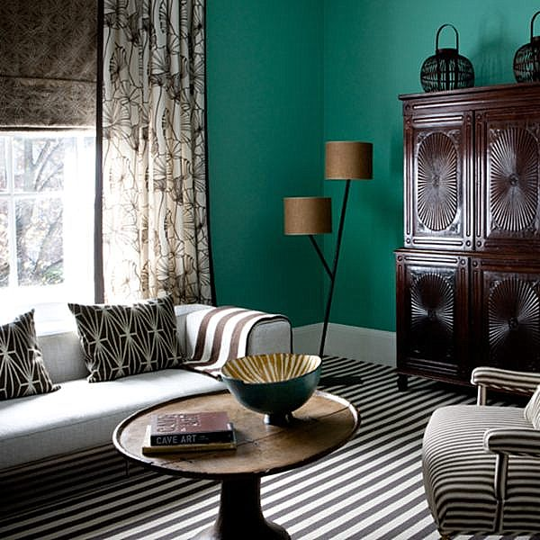 Amazing Painting Living Room Green Pictures Part 9