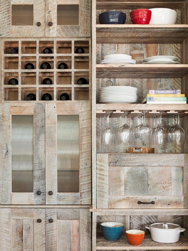 Pallet Cabinet Doors Wood Kitchen Cabinets