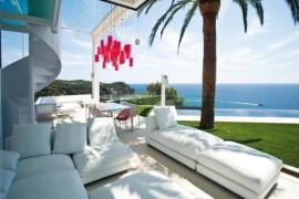 Posh Private Residence In Greece Integrates Sleek Symmetry
