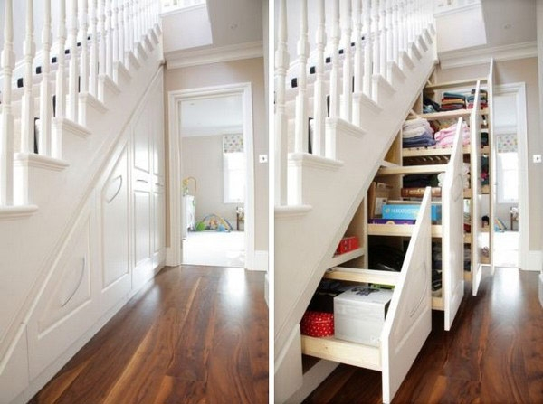 40 Under Stairs Storage Space And Shelf Ideas To Maximize Your | Cabinet Design Under Stairs | Kitchen | Interior Design | Houzz | Stairs Storage Ideas | Understairs Storage