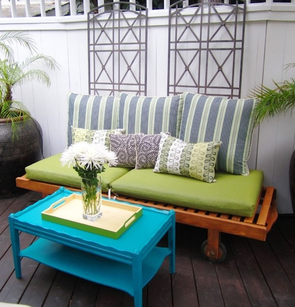 affordable repurposed furniture to outfit your new apartment