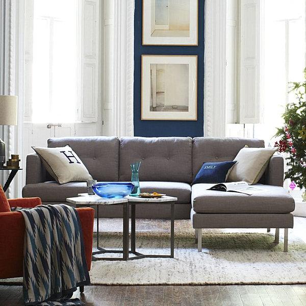Large Sectional Sofa Ottoman