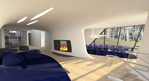 Russian Billionaire Builds Futuristic Spaceship Home For