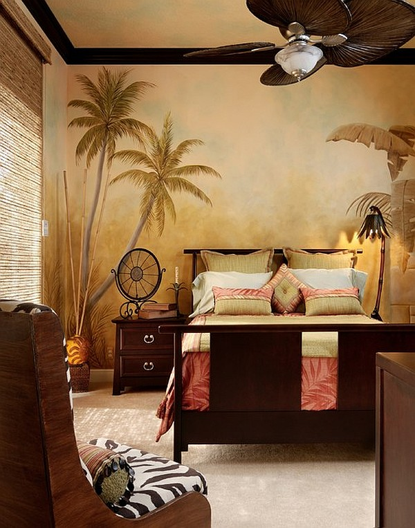 View In Gallery Safari Inspired Bedroom Decorating With A Modern Theme