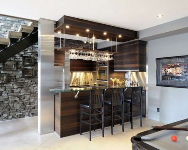 40 Inspirational Home Bar Design Ideas For A Stylish | Bar Counter Design Under Stairs