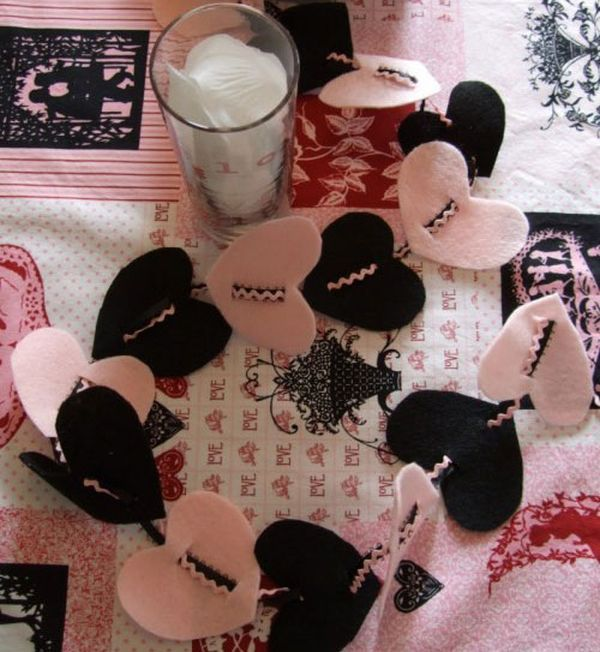 DIY Valentines Day Heart Shaped Crafts That Say I Love You