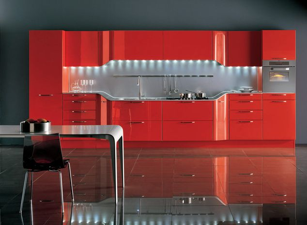 Red Kitchen Design Ideas Pictures And Inspiration