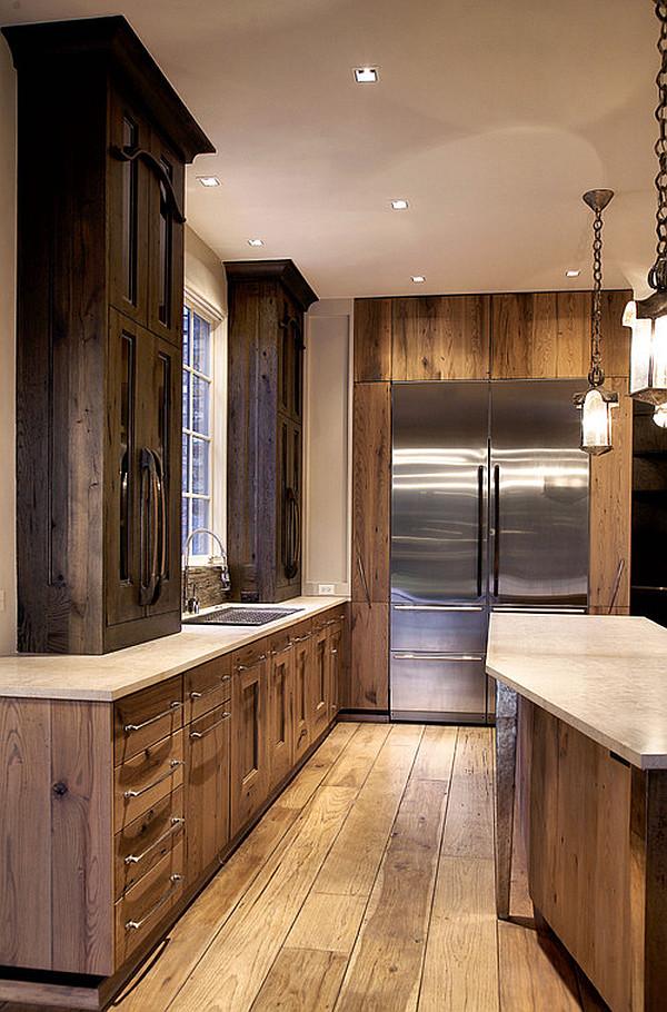 Modern Rustic Kitchen Cabinets Novocom Top